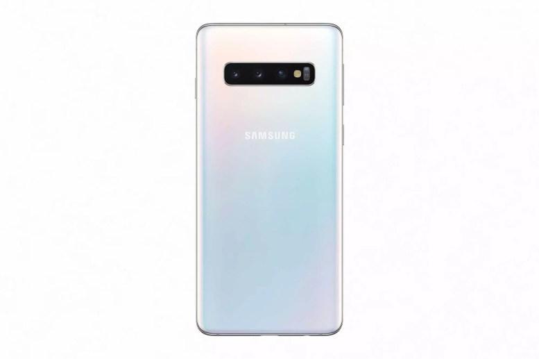 Samsung galaxy s10 prism white back1 2