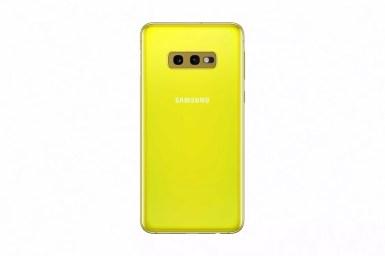 Samsung galaxy s10e canary yellow1 2