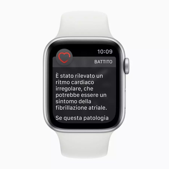 ECG app Apple watch Afib IT IT screen 032719