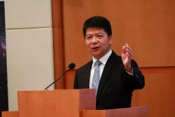 Guo Ping, Huawei Rotating Chairman, released its 2018 annual report