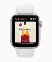 apple watchos6 audiobooks 060319