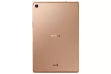 Samsung Galaxy Tab S5e back gold