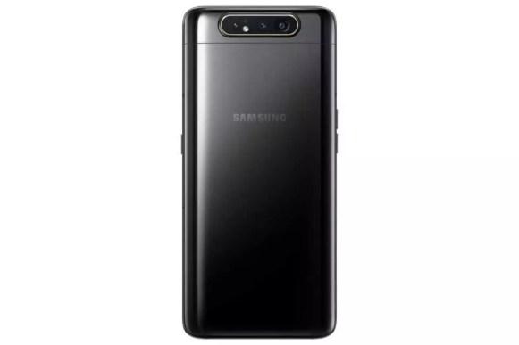 Samsung galaxy a80 phantom black back