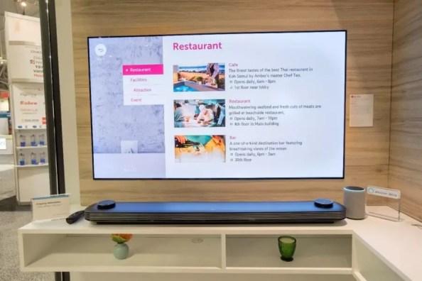 LG Hotel TVs with Alexa for Hospitality 3