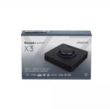 Creative Sound Blaster X3 Box SB X3 03