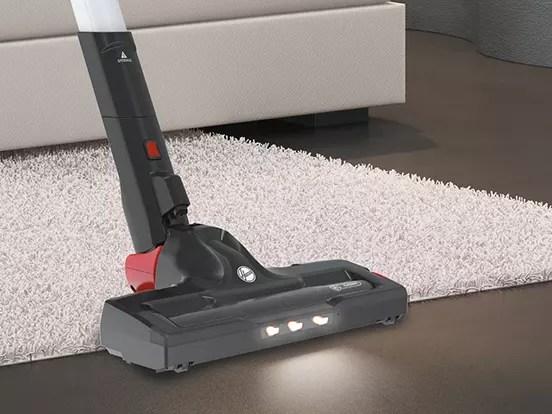 Hoover H FREE 500 intense floor roller rosso