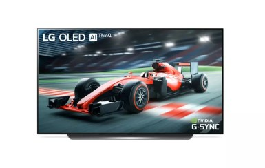 NVIDIA G SYNC on LG OLED TV C9 2