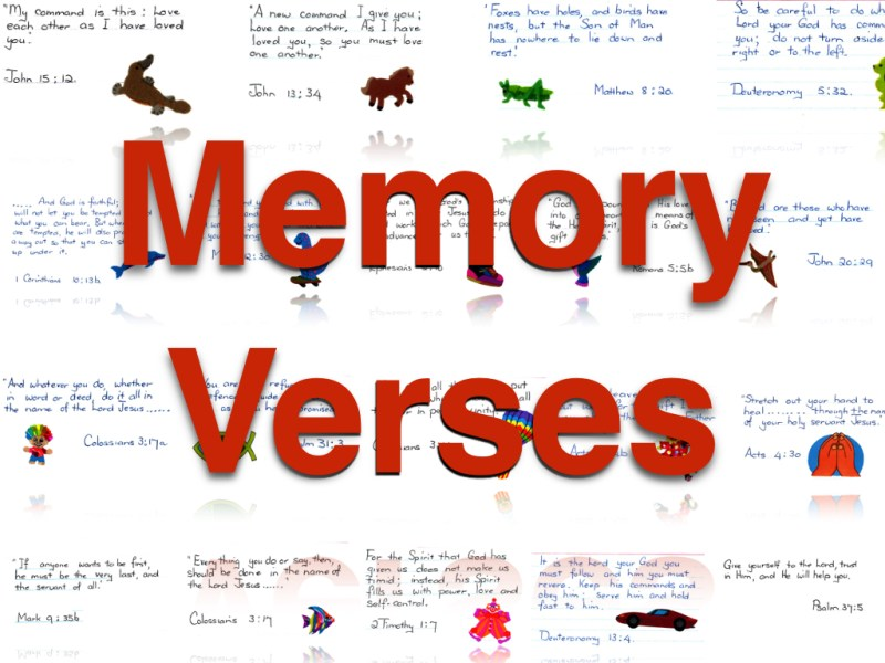 memoryverses