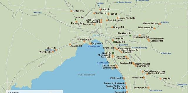 Changing Melbourne Transport #1: Burke Rd Level Crossing