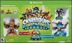Skylanders Swap Force Box art