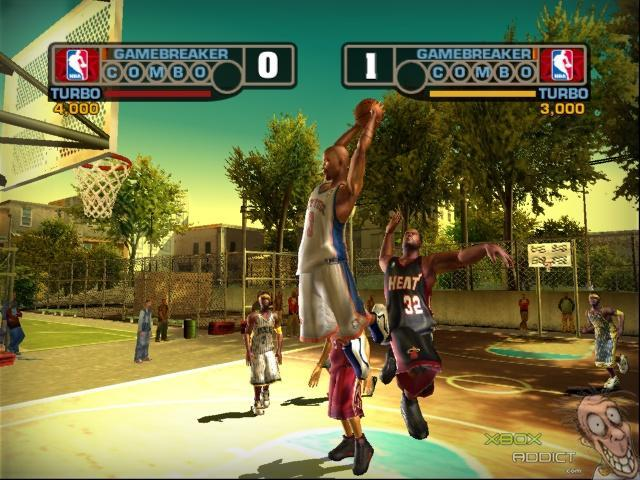 NBA Street Vol 3 Review Xbox
