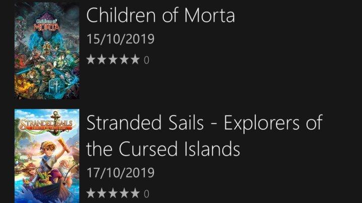 Voici les sorties de la semaine sur #XboxOne. On retiendra surtout l'arrivée de #ChildrenOfMorta et de #plantsvszombiesbattleforneighborville. Qu'est-ce qui vous tente ? pic.twitter.com/cUn8NdhSZY