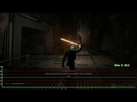 [4K] Star Wars : Jedi Fallen Order – Frame rate test – Xbox One X