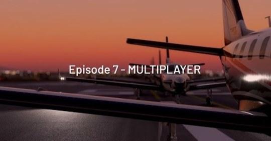 Vous pourrez jouer en multijoueur sur Flight Simulator ! 3 modes sont prévus : -Live Players Only -All Players… -Group…