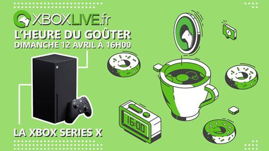 Ça vous dit un petit goûter dimanche à 16h pour échanger et poser vos questions sur la Xbox Series X ? Ça sera ce dimanc…