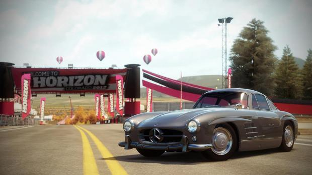 Mercedes Benz 300SL Forza Horizon
