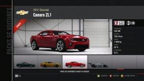 Chevy Camaro ZL1 Forza Motorsport 4 Playseat DLC
