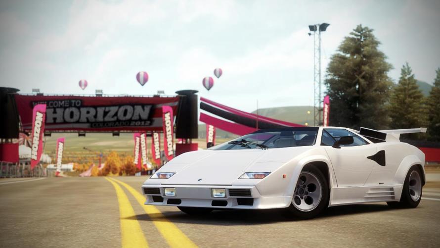 Lamborghini Countach LP500 QV Forza Horizon