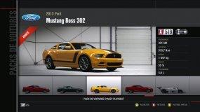 Ford Mustang Boss 302 Forza Motorsport 4 Playseat DLC