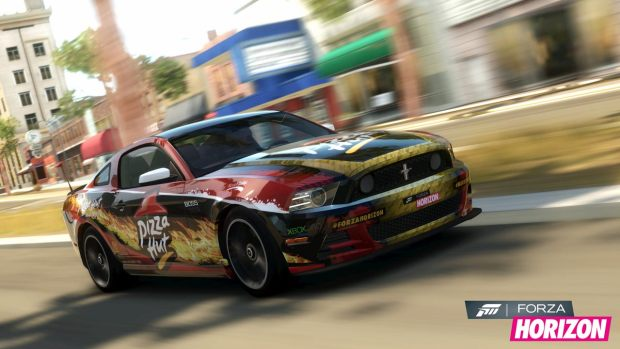 Ford Mustang Pizza Hut Forza Horizon
