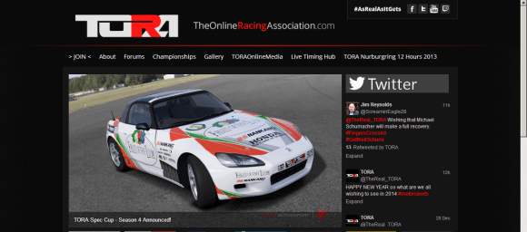 The Online Racing Association
