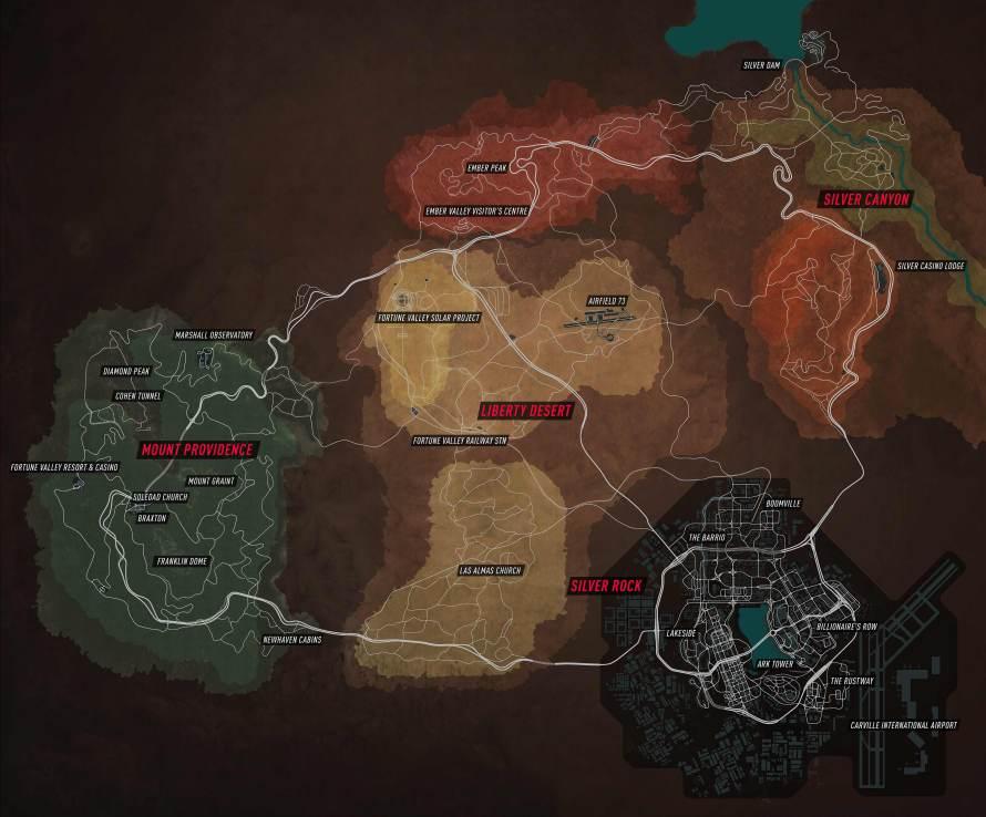 Découvrez la map complète de Need For Speed Payback