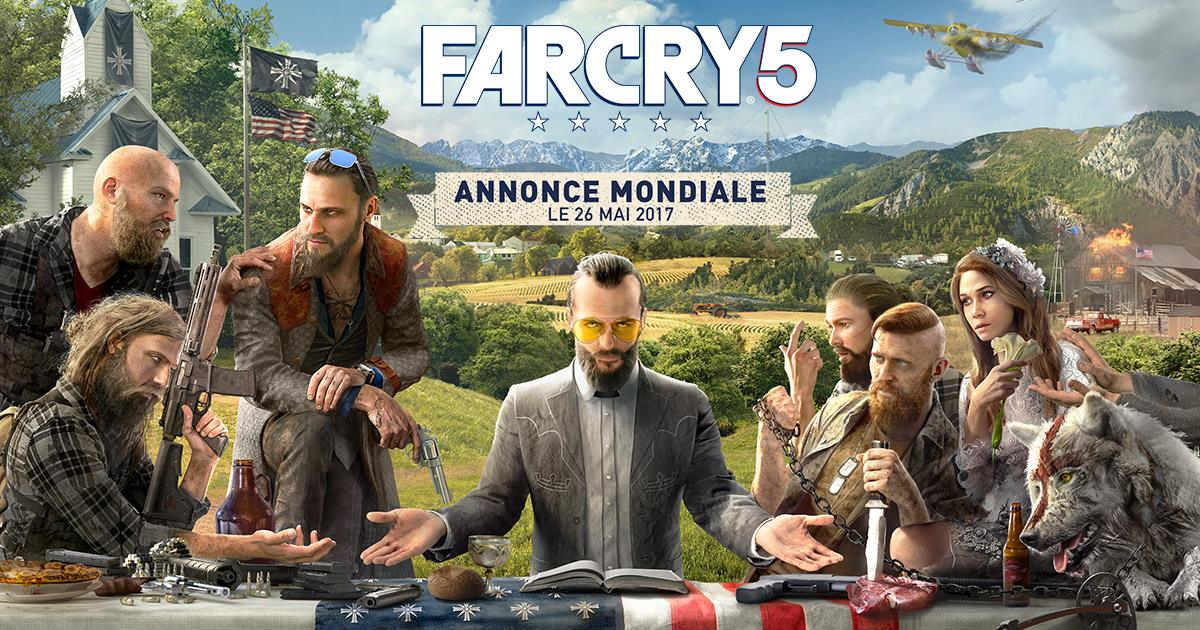 Far Cry 5 Rejoue La Cne Avec Ses Gros Barbus Xbox One
