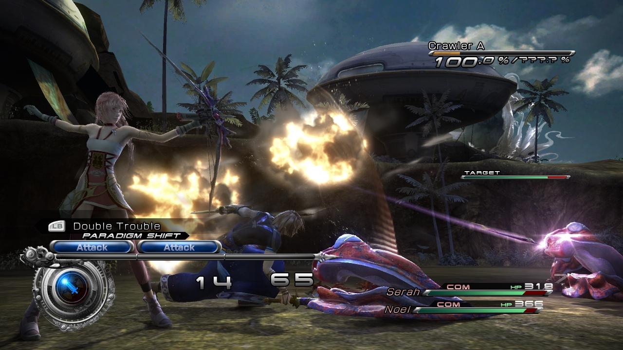 Une Vido Et Des Images Pour Final Fantasy XIII 2 Xbox