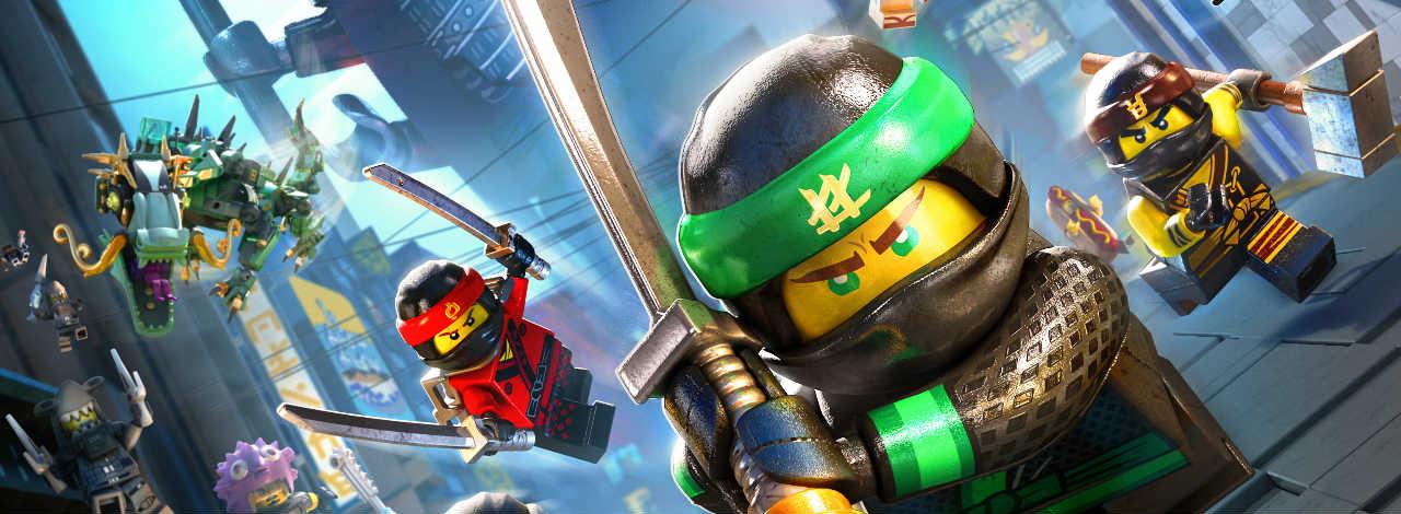 Nouveau Trailer De LEGO Ninjago Le Film Le Jeu Vido