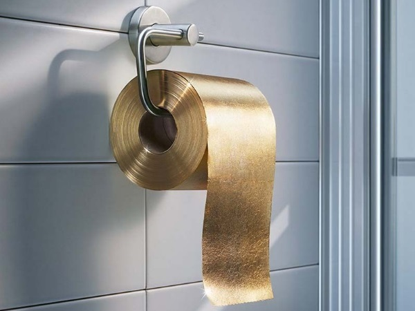 22-Carat Gold Toilet Paper