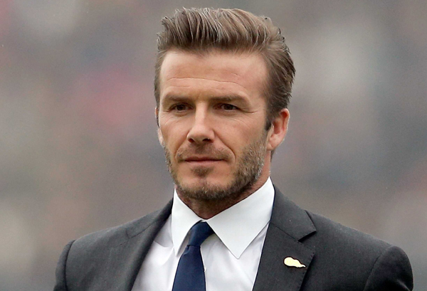Unicef Goodwill Ambassador David Beckham