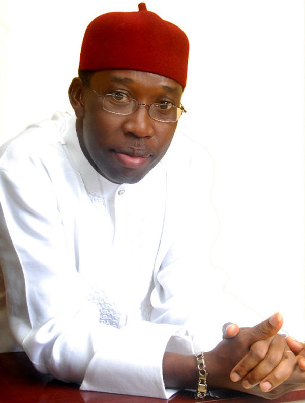 Delta State People's Democratic Party (PDP) gubernatorial candidate Dr Ifeanyi Okowa