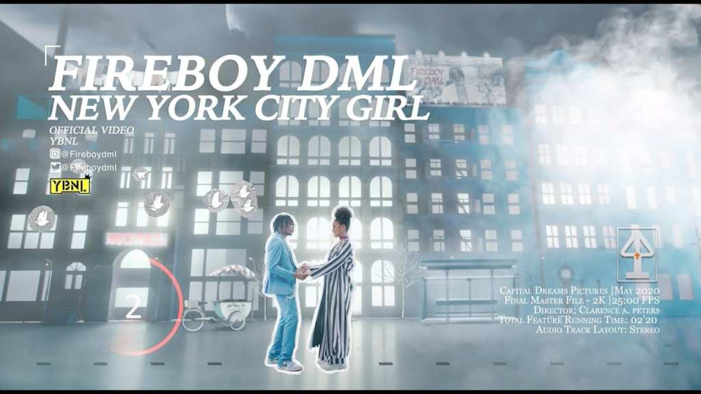 Video: Fireboy DML - New York City Girl