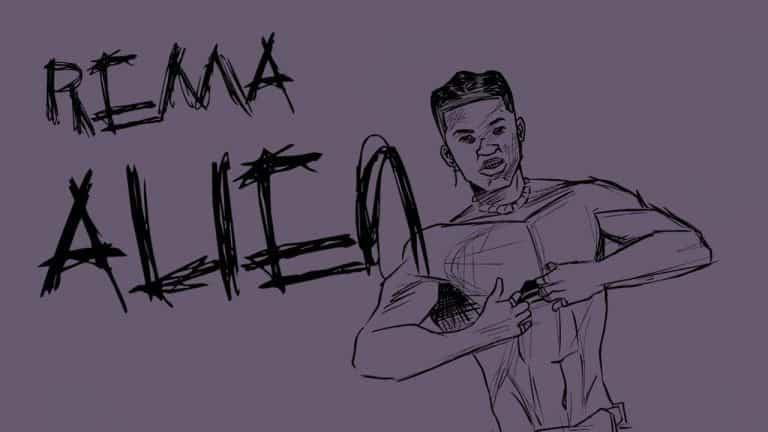 VIDEO: Rema – Alien (Lyrics Video)