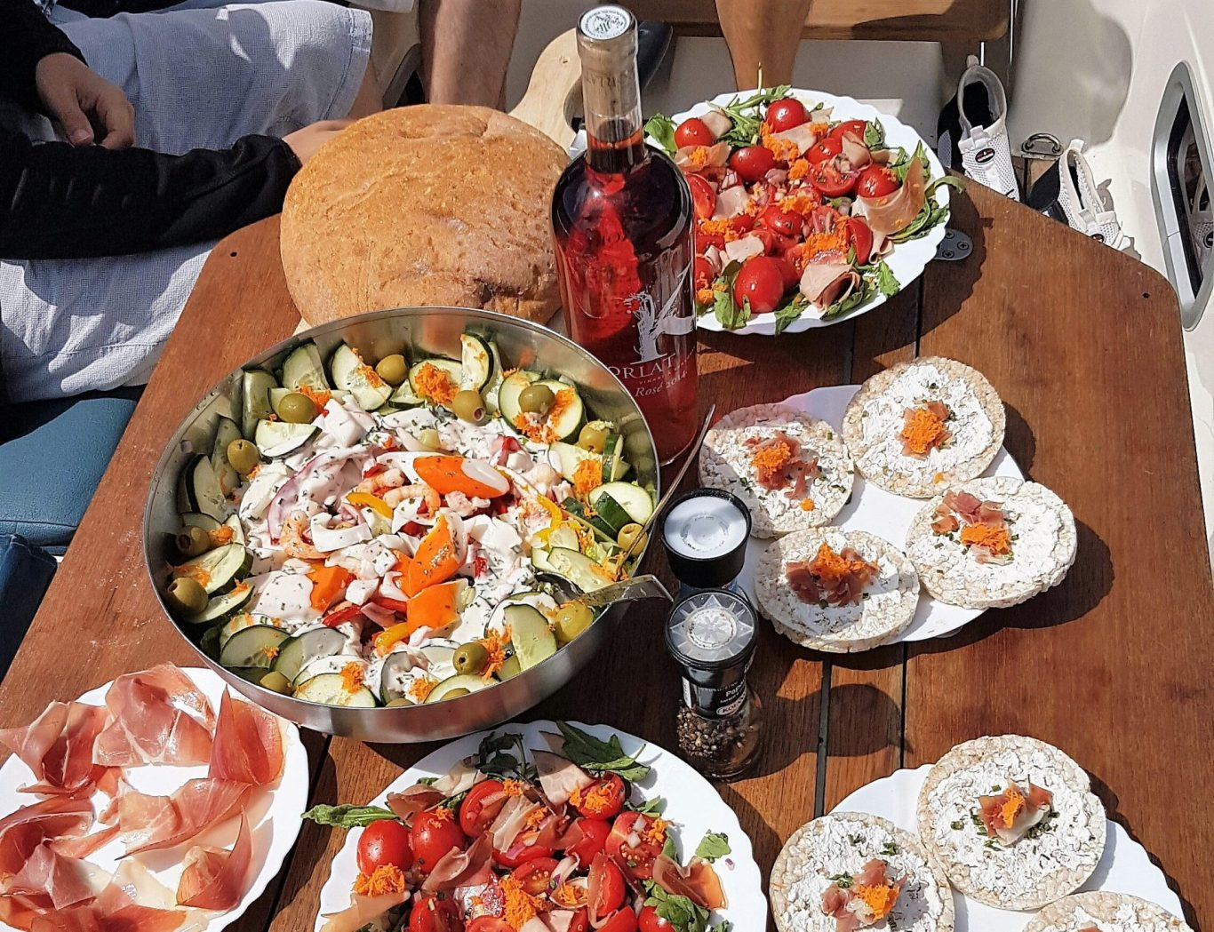 Extensive Lunch