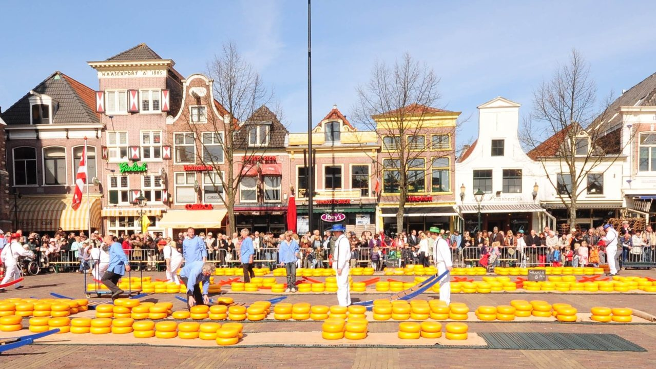 Edam with famous cheese market