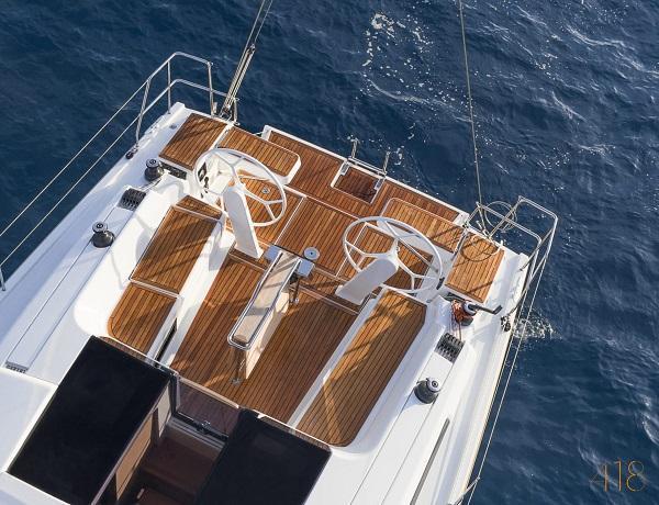 Xclusive Sailing Zeiljacht Hanse 418 Kuip