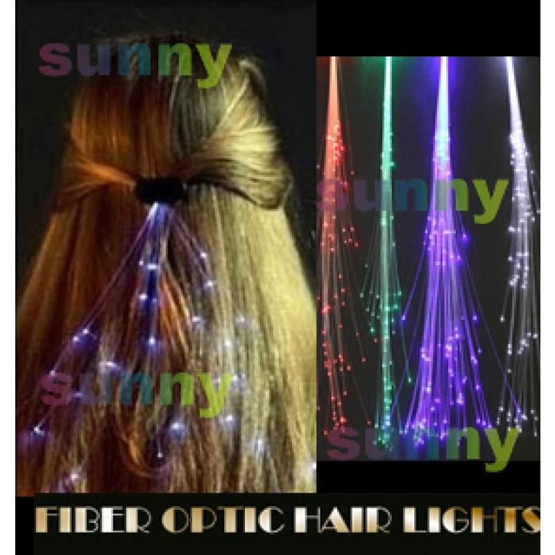 Glowbys Hair Lights And Crystal Hair Accessories Unique