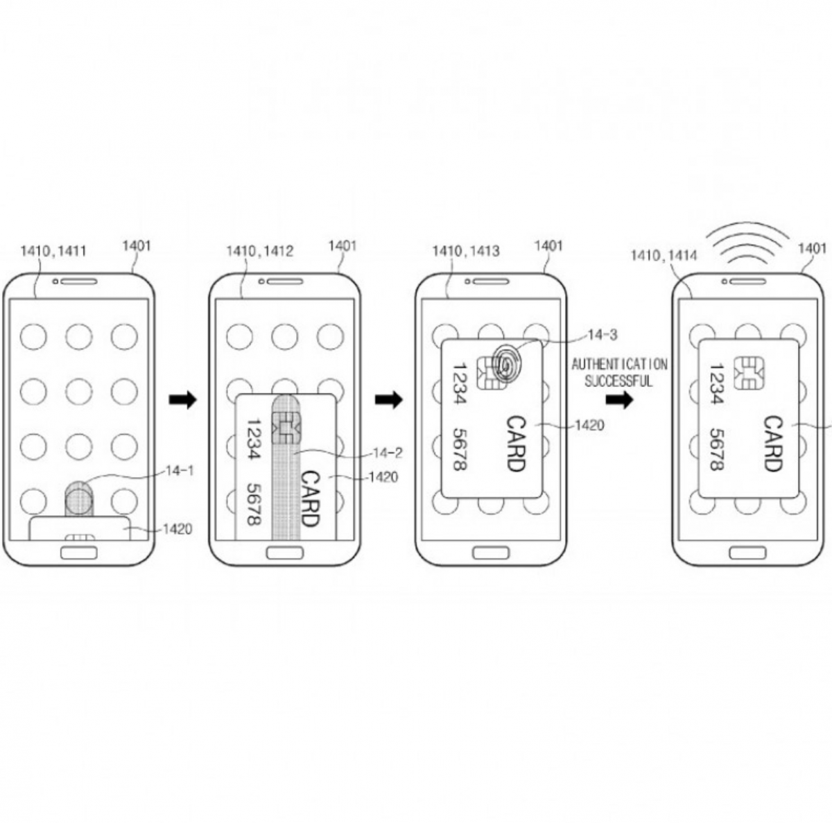 Samsung Receives Patent For Under Screen Fingerprint Sensor