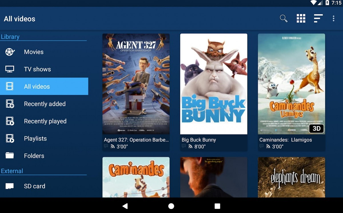 Nova is an open-source video player for phones, tablets, and