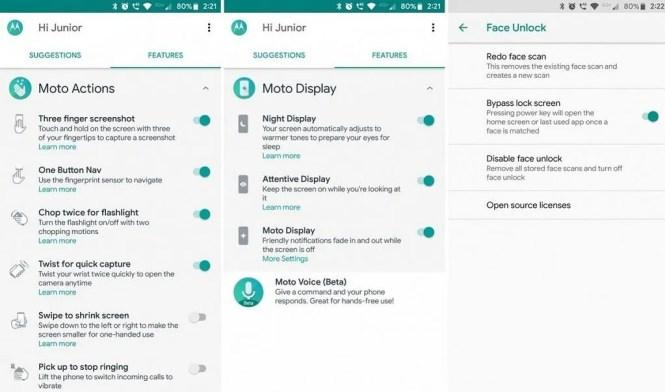 Get Motorola Moto Z3 Play/Motorola Moto G6 apps on the Motorola Moto Z2 Play