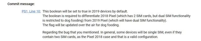 Google Pixel 4 dual SIM