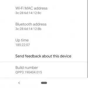 Android Q MAC Address Randomization