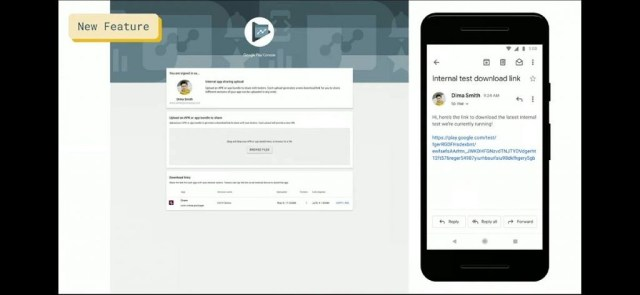 Link sharing for latest app version