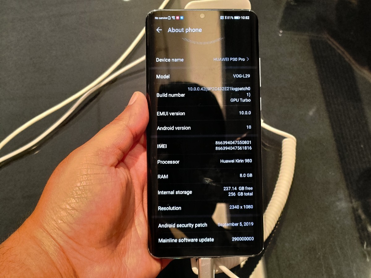 EMUI 10 beta on the Huawei P30 Pro – Hands-on with Huawei's