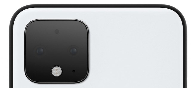 Google Pixel 4 square camera bump