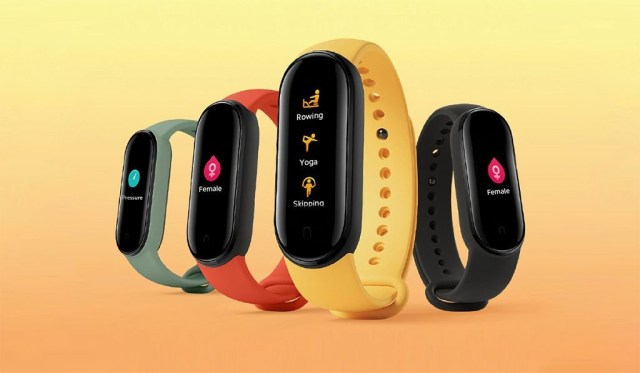 xiaomi mi band 5 colors fitness tracker