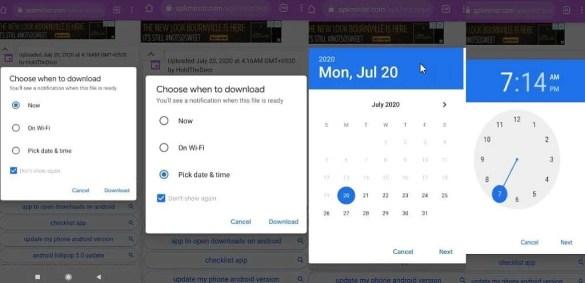 Chrome para Android recibirá muy pronto un programador de descargas