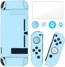 BRHE Dockable Switch Protective Case Cover for Nintendo Switch