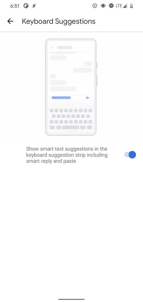 Android 11 Disable keyboard suggestions